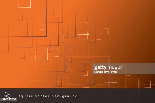 illustrations, cliparts, dessins animés et icônes de arrière-plan abstrait - fond orange