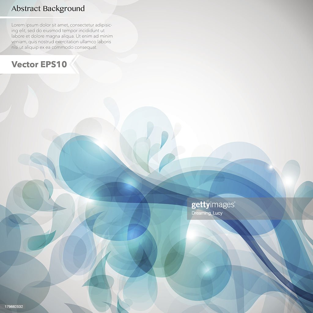 Abstract background with bright splashes.