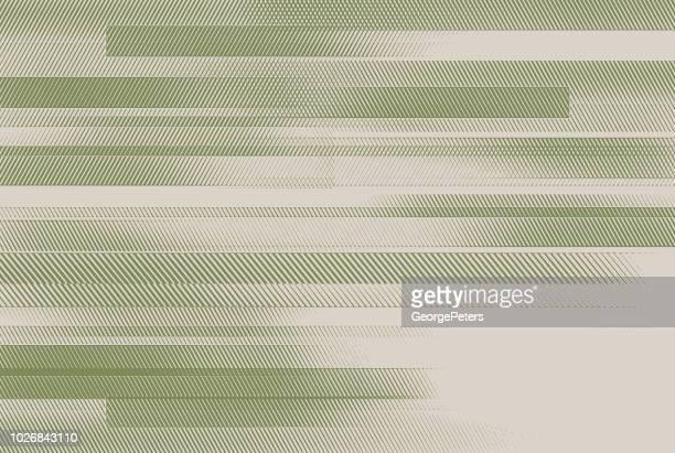 カラフルな水平バーと抽象的な背景 - カーキグリーン点のイラスト素材/クリップアート素材/マンガ素材/アイコン素材