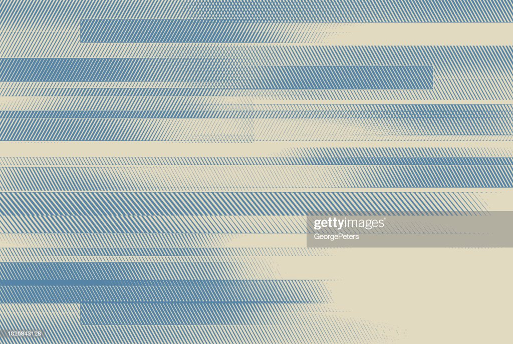 Abstract background with colorful horizontal bars : Illustrazione stock