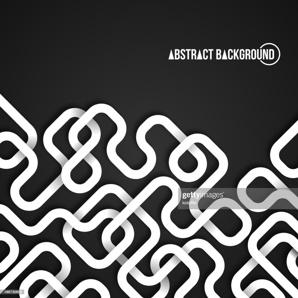 Abstract background with curved lines.