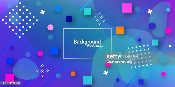 abstract background with in blue gradient - design element stock illustrations