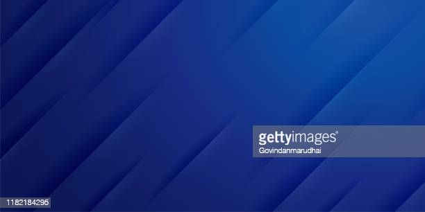 abstract background with in blue gradient - web banner stock illustrations