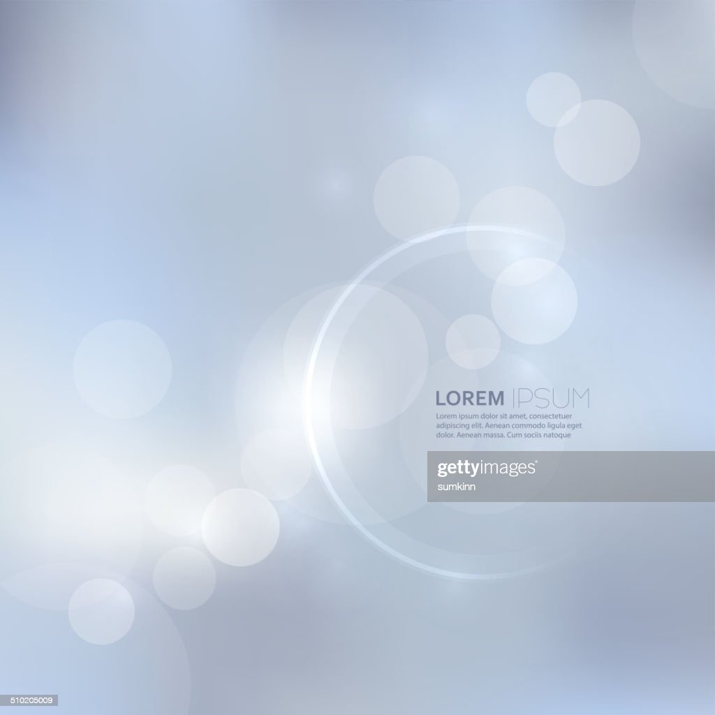 Abstract background with light and bright spots.