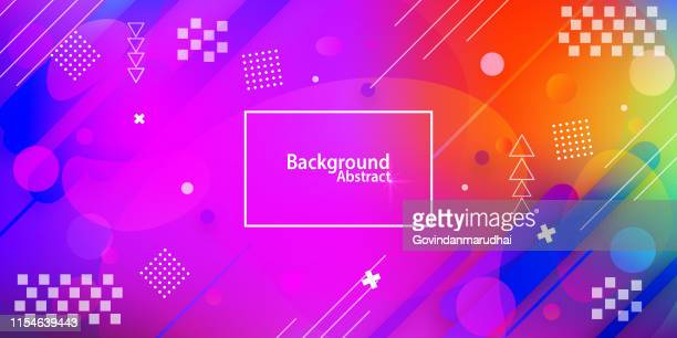 abstract background with multi colored gradient - light effect stock illustrations