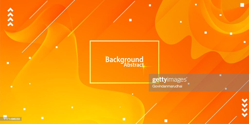 abstract background with orange and yellow gradient : stock illustration