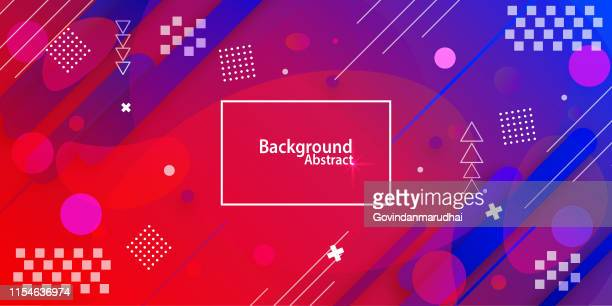 abstract background with purple & blue gradient - youth culture stock illustrations