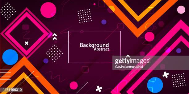 abstract background with purple & blue gradient - magazine cover stock illustrations