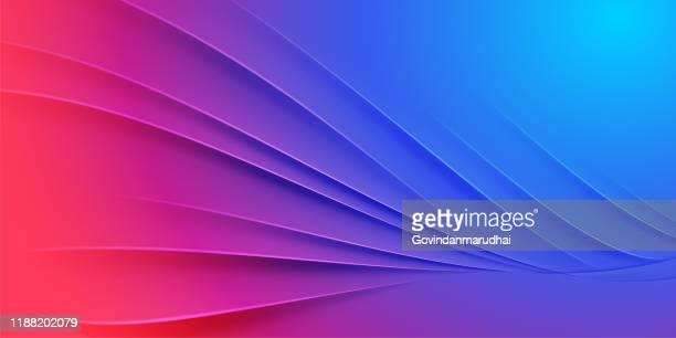 illustrazioni stock, clip art, cartoni animati e icone di tendenza di abstract background with purple & blue gradient - viola colore