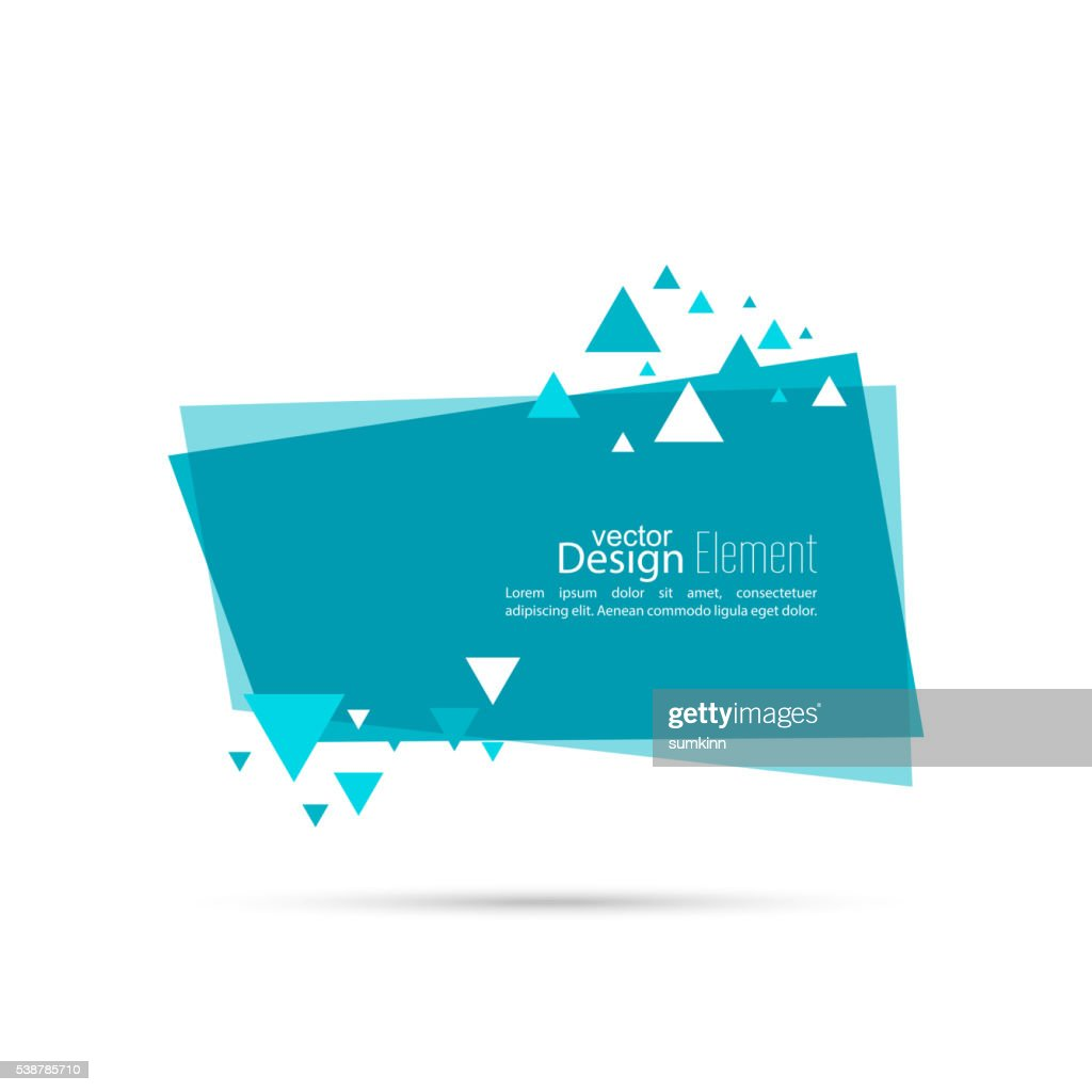 Abstract background with rectangle