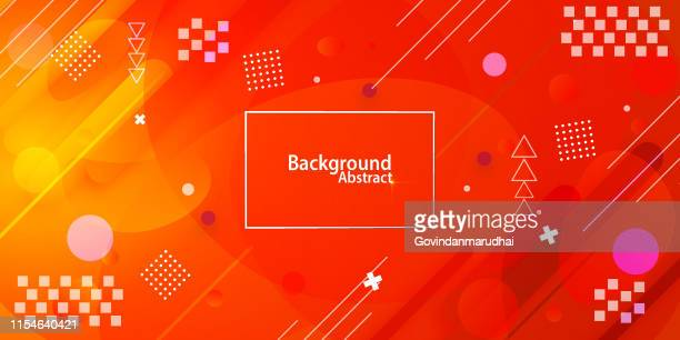 abstract background with red and yellow gradient - vitality stock illustrations