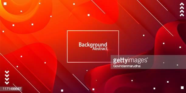 illustrazioni stock, clip art, cartoni animati e icone di tendenza di abstract background with red gradient - liquido