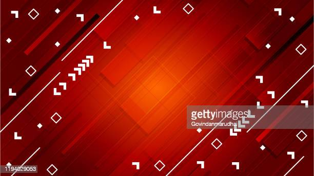 abstract background with red gradient - styles stock illustrations
