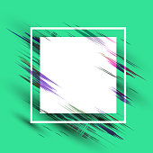 Abstract background with smears and spots for banner - vector eps10