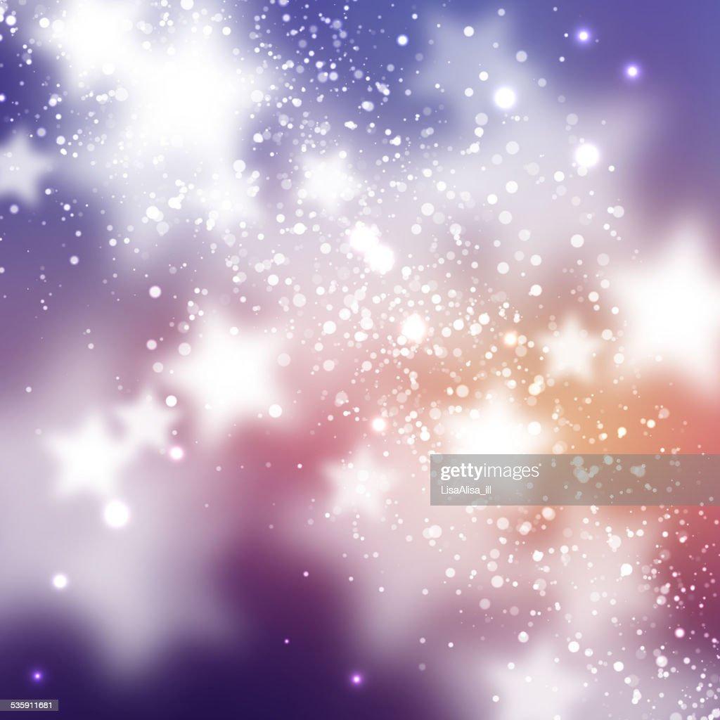 Fundo abstrato com estrelas : Arte vetorial