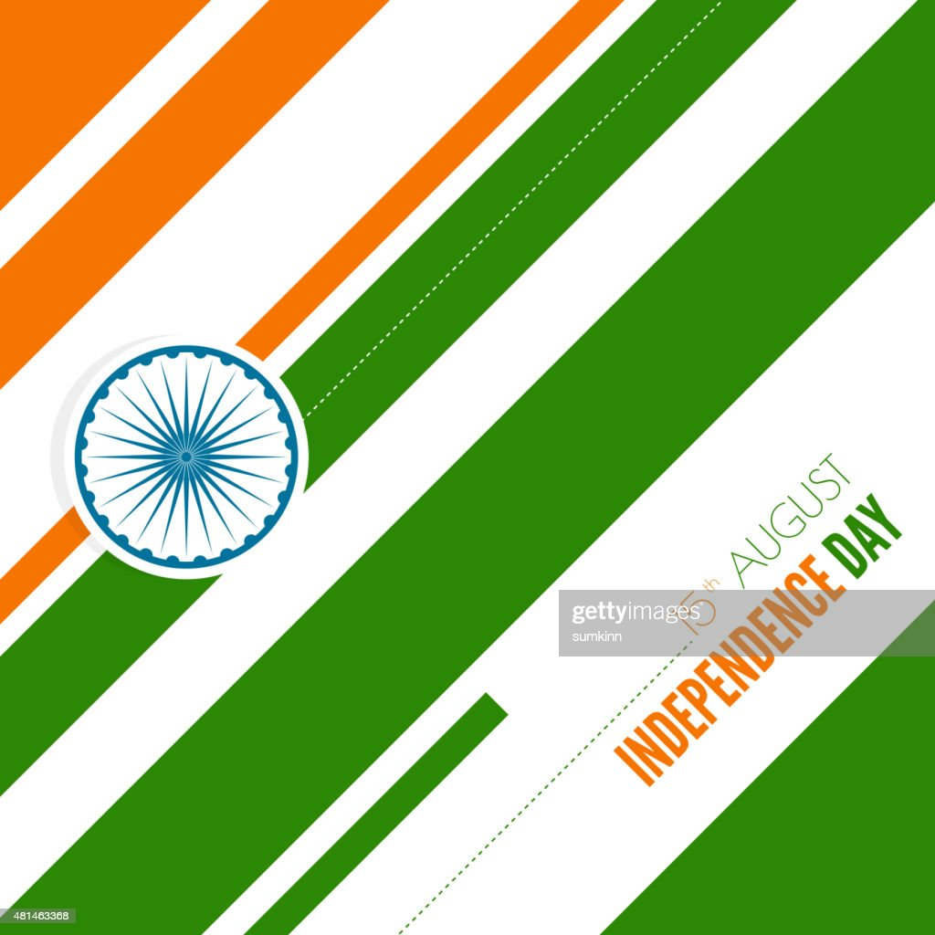 Abstract background with the symbol of India