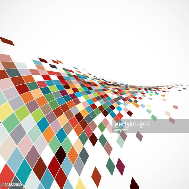 abstract backgrounds - bandwidth stock illustrations