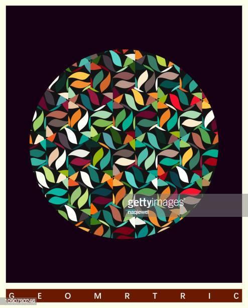 ilustraciones, imágenes clip art, dibujos animados e iconos de stock de fondos abstractos - diseño floral