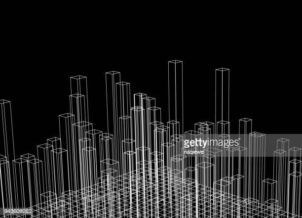 abstract backgrounds - construction frame stock illustrations