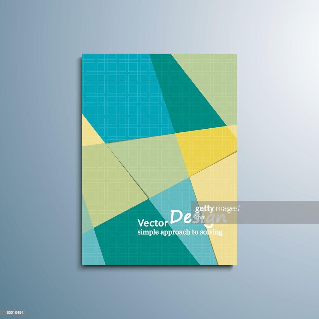 Abstract  banner brochure flyer vector design.