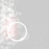 Abstract beauty Christmas and New Year banner. vector illustration
