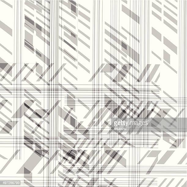 abstract black and white stripe pattern background - flare stack stock illustrations, clip art, cartoons, & icons