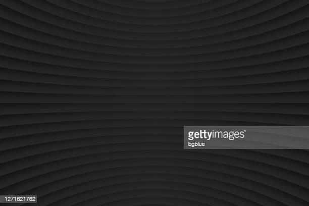 abstrakter schwarzer hintergrund - geometrische textur - schwarzer hintergrund stock-grafiken, -clipart, -cartoons und -symbole