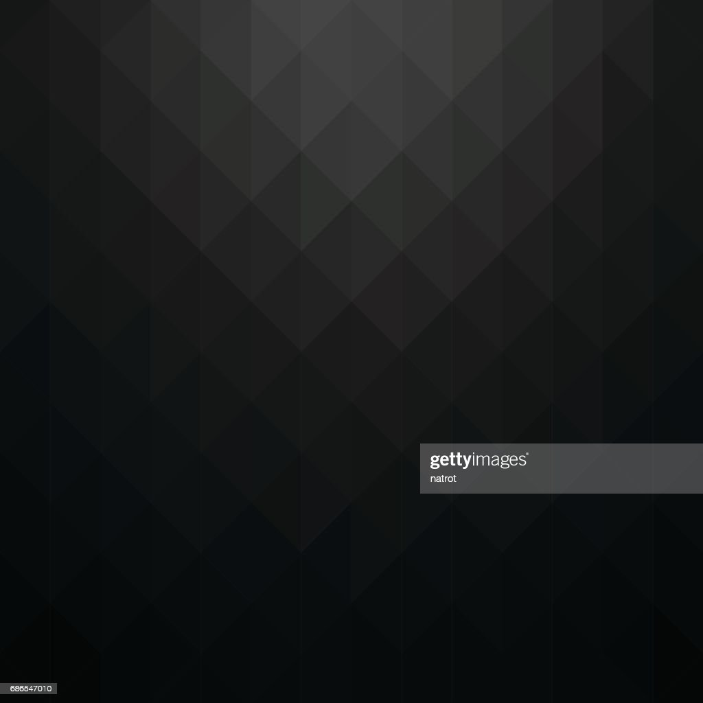 Abstract black geometric background