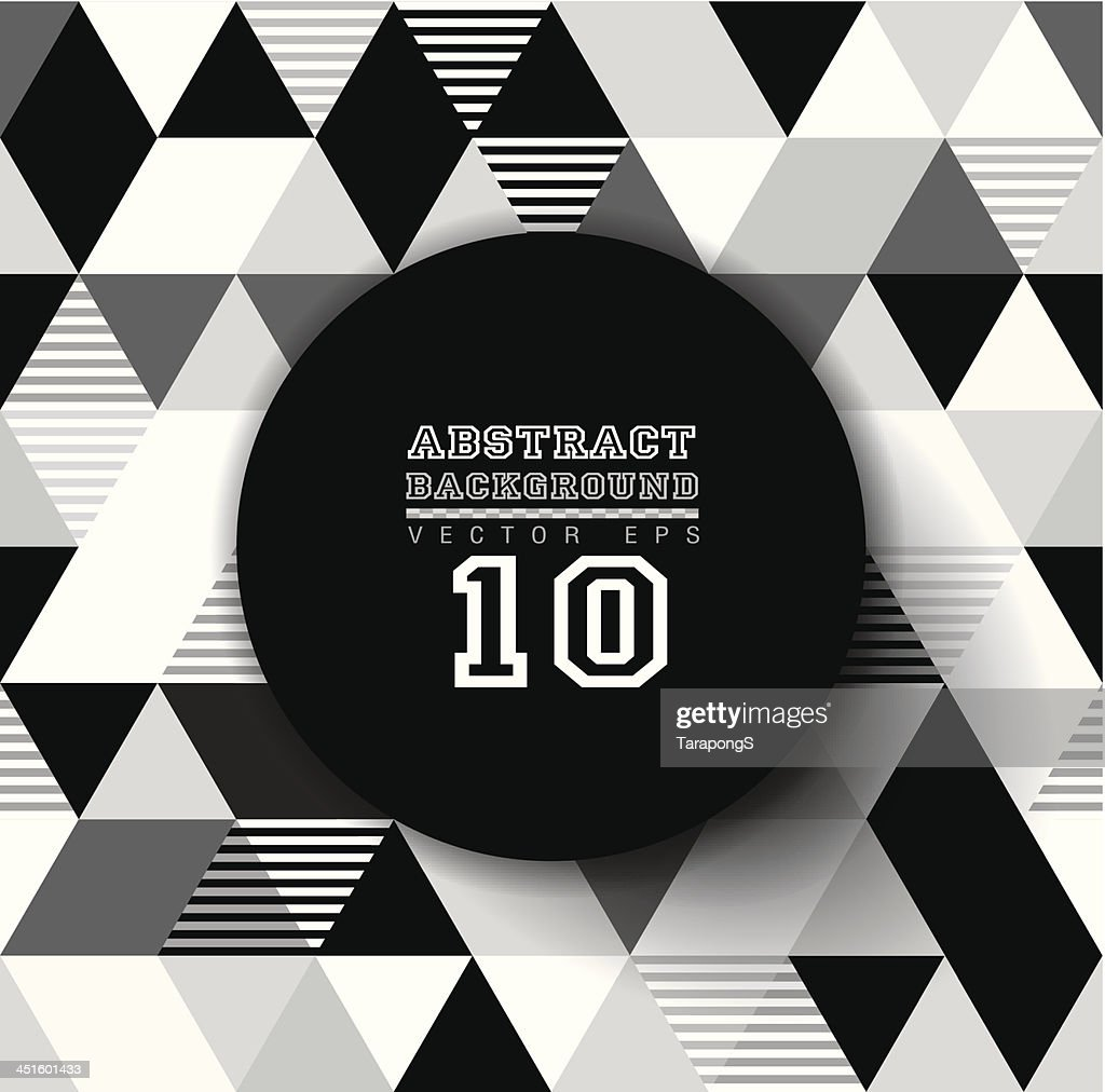 Abstract black-and-white geometric background