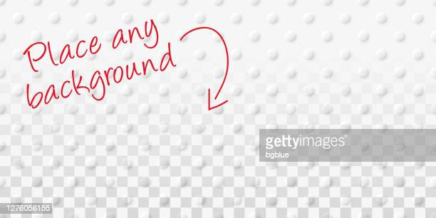 abstract blank background - transparent geometric texture - bumpy stock illustrations
