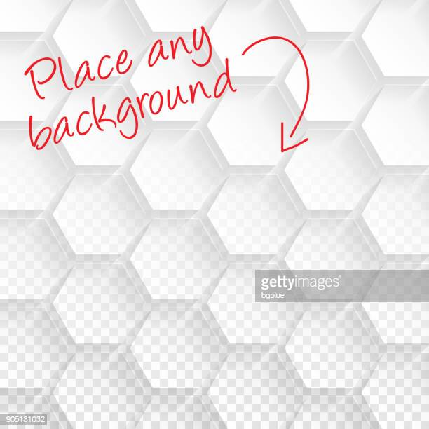 Abstract blank background - Transparent geometric texture