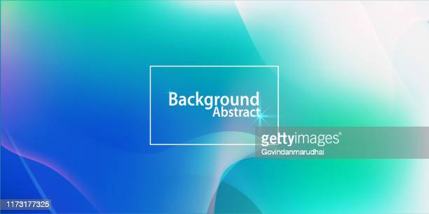 abstract blue and green soft background - green and blue background stock illustrations
