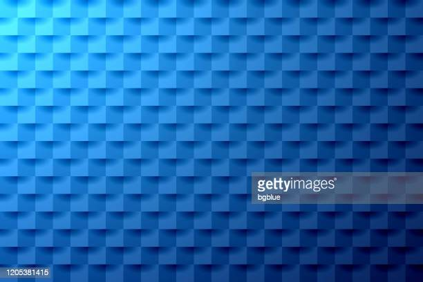 abstract blue background - geometric texture - square stock illustrations