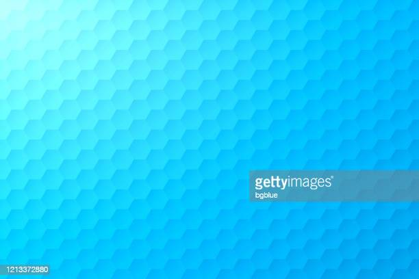 stockillustraties, clipart, cartoons en iconen met abstracte blauwe achtergrond - geometrische textuur - lichtblauw