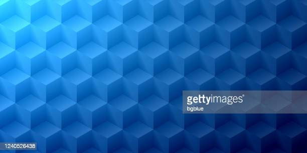 abstract blue background - geometric texture - dark blue stock illustrations