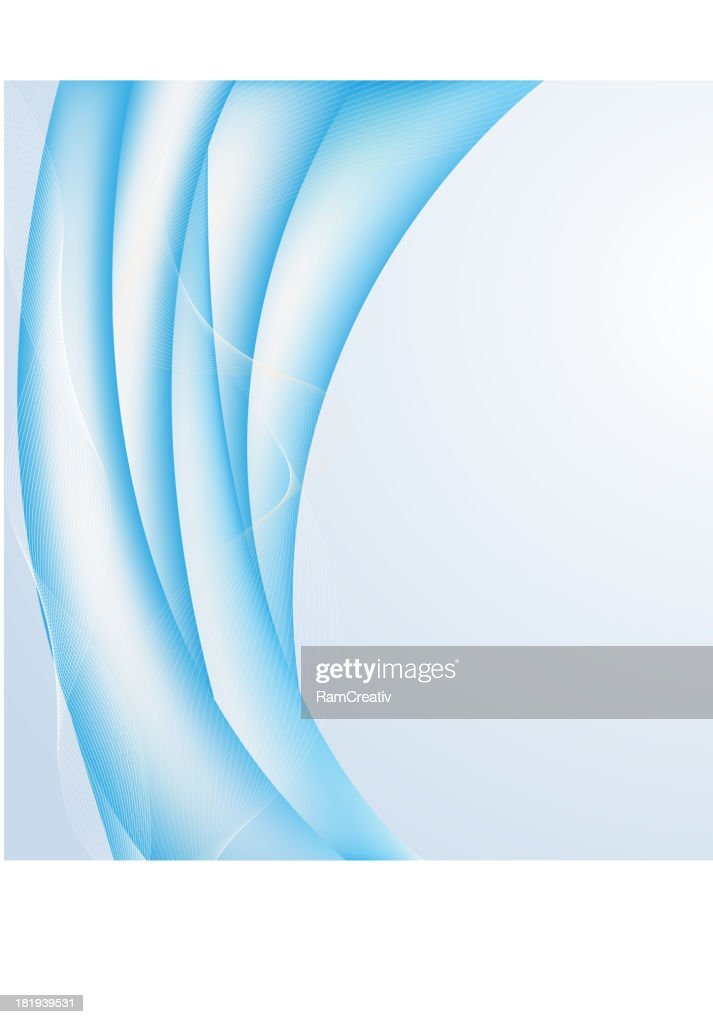 Abstract blue background in gentle tones