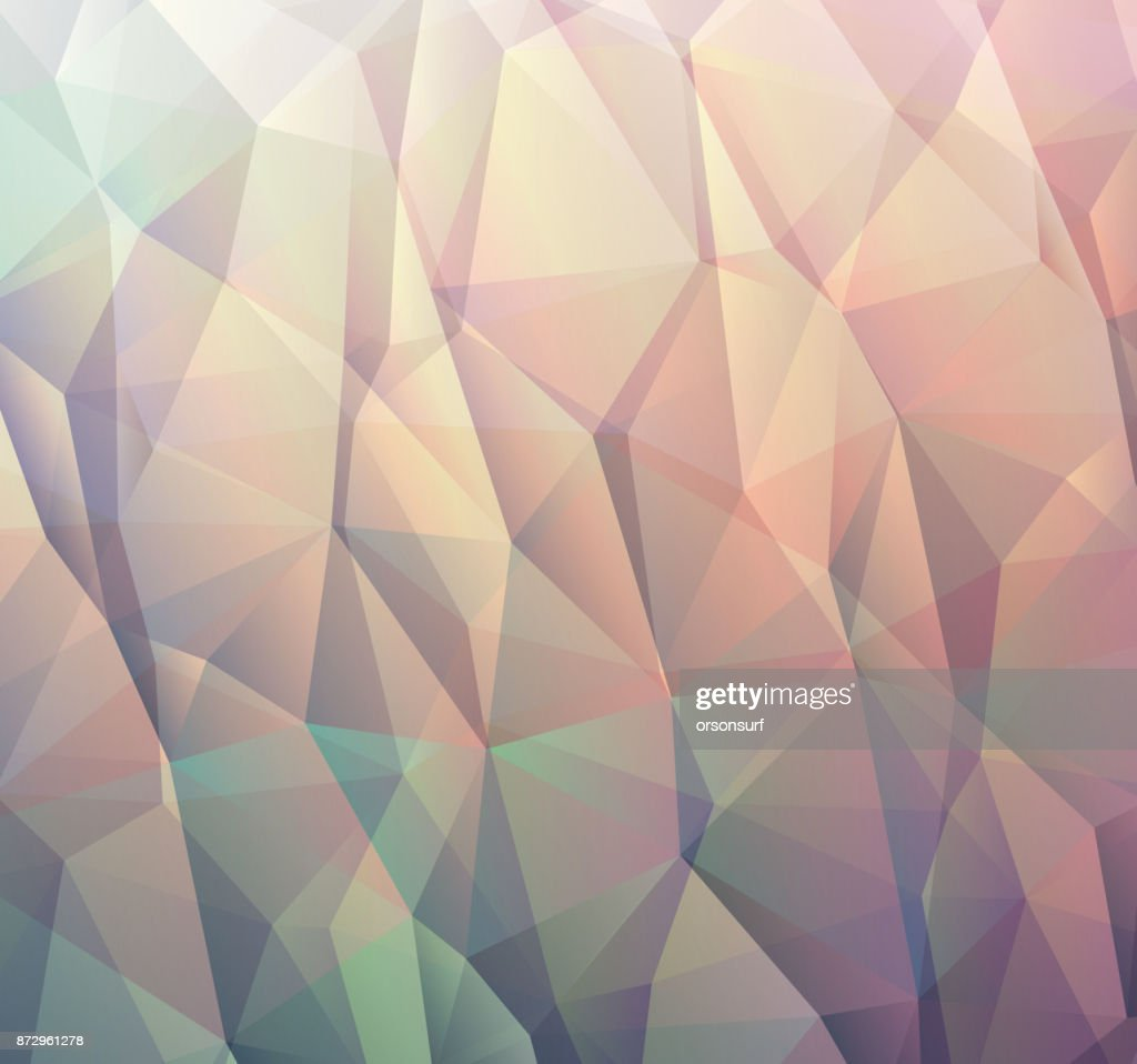 Abstract blue background made from triangles