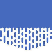 Abstract blue background rounded raindrops lines, vector blue background for advertisements