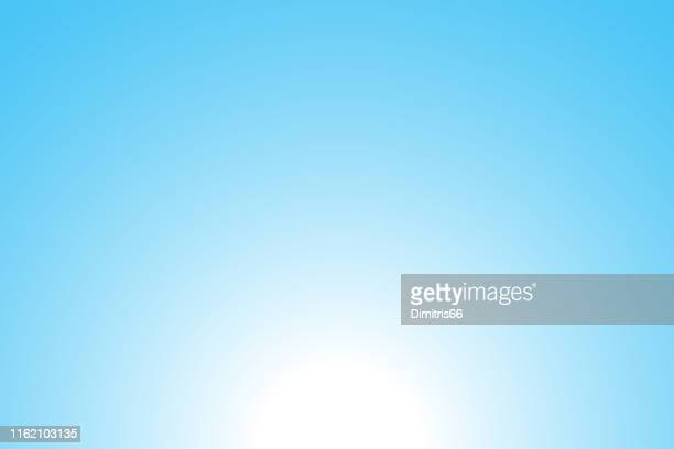 abstract blue background: sunrise - softness stock illustrations