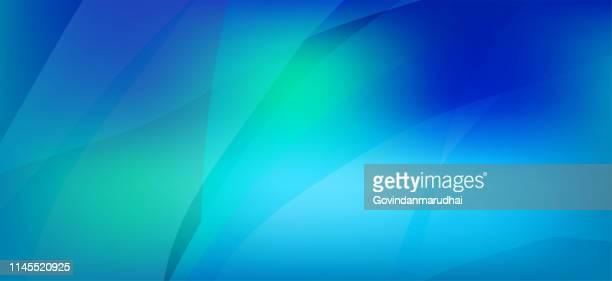 abstrakter blauer hintergrund - ruhige szene stock-grafiken, -clipart, -cartoons und -symbole