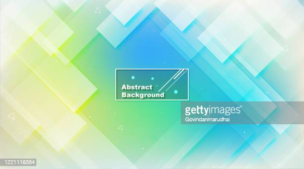 abstract blue background - green and blue background stock illustrations