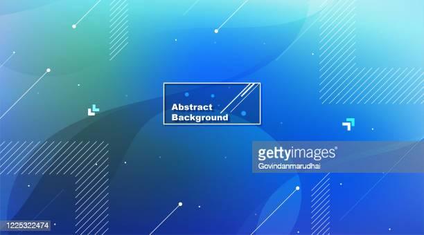 抽象的な青の背景 - 現代的点のイラスト素材/クリップアート素材/マンガ素材/アイコン素材