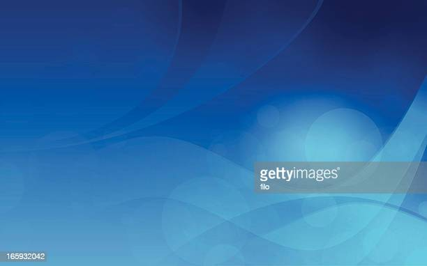 abstract blue background - desktop pc stock illustrations, clip art, cartoons, & icons