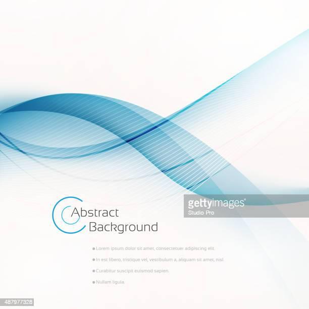 Abstrakt Blau Hintergrund