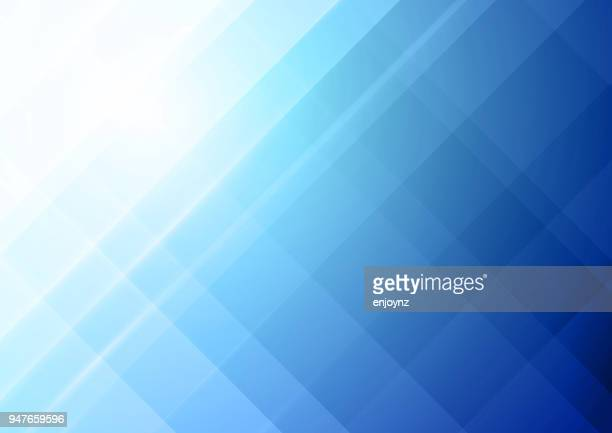 abstract blue background - fractal stock illustrations