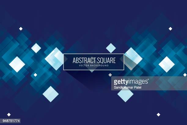 abstract blue background - asymmetry stock illustrations