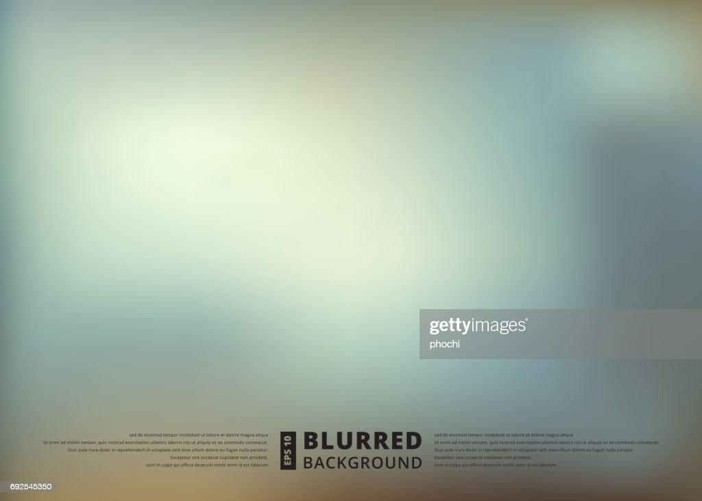 Abstract blue blur unfocused style background, blurred wallpaper design , vector