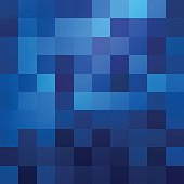Abstract blue colored wallpaper pattern