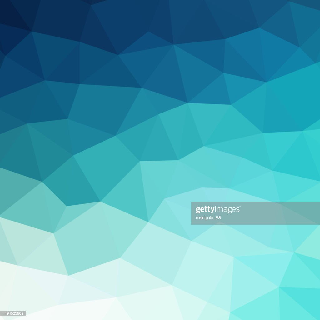 Abstract blue colorful geometric background