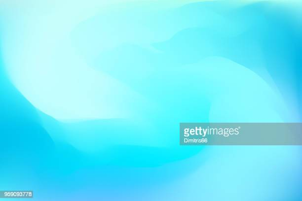 abstract blue dreamy background - bright stock illustrations